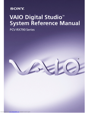 Sony PCV-RX791 System Reference Manual
