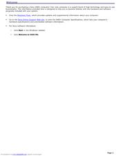sony pcv v200g vaio user guide primary manual manuals rh manualslib com Manual Sony Vaio Vpceg Sony Vaio User Manual
