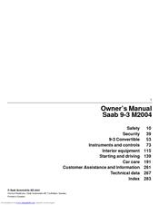 Saab 2004 9 3 owners manual pdf download fandeluxe Gallery