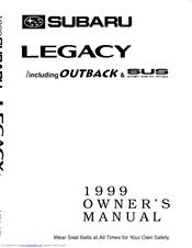subaru 1999 legacy owner s manual pdf download