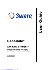 3WARE ESCALADE 8506 8 TREIBER WINDOWS XP