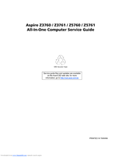 ACER ASPIRE Z5760 SERVICE MANUAL Pdf Download
