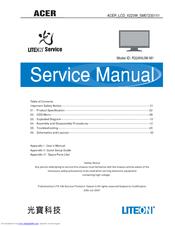 acer x223w 22 widescreen lcd monitor manuals rh manualslib com acer lcd monitor s271hl manual acer lcd monitor g226hql manual