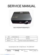 Acer P5271i Series Service Manual