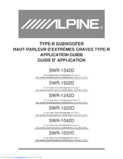 233591_swr_1242d_product alpine swr 1042d type r car subwoofer driver manuals alpine swr-1242d wiring diagram at bayanpartner.co