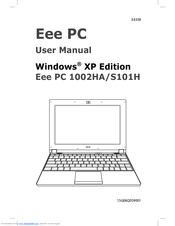Asus Eee PC 1002HA/XP Audio Drivers Download (2019)