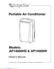 edgestar ap14000w manuals rh manualslib com EdgeStar Ice Maker EdgeStar Portable Air Conditioner Manual