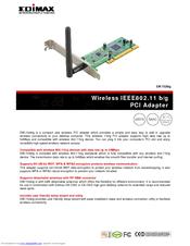 Edimax EW-7326Ig WLAN Driver PC