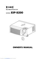 eiki eip s200 manuals rh manualslib com