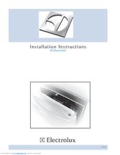 electrolux edw5505eps icon dishwasher manuals rh manualslib com Electrolux Icon Dishwasher Manual Dishwasher Electrolux Ei24id81ss
