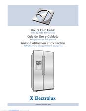 Electrolux EW23BC70IS - 23cu Ft. Cabinet DEPT Fridge Manuals