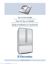 Electrolux EI23BC60KS Use And Care Manual