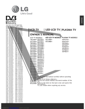 LG 22LG31 Series Owner's Manual