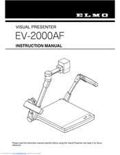 elmo ev 2000af manuals rh manualslib com
