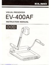 elmo ev 400af instruction manual pdf download rh manualslib com