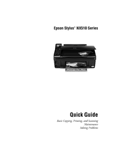 epson stylus nx510 quick manual pdf download rh manualslib com Epson NX510 Ink epson stylus nx510 service manual