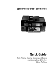 epson workforce 500 series manuals rh manualslib com  epson workforce 500 user manual