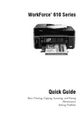 epson workforce 610 series quick manual pdf download rh manualslib com Epson Workforce 630 Screen Menu epson workforce 630 online user's guide