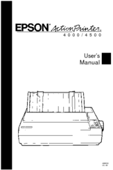 Epson ActionPrinter 4500 User Manual