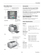 Epson PictureMate - Compact Photo Printer Product Information