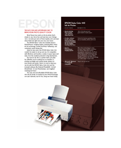 Epson Stylus Color 440 Specifications