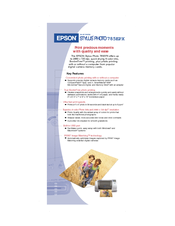 Epson 785EPX - Stylus Photo Color Inkjet Printer Specifications