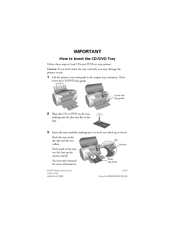 Epson R200 - Stylus Photo Color Inkjet Printer Supplementary Manual