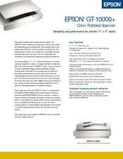 Epson GT-10000 Scanner TWAIN Pro Driver Download
