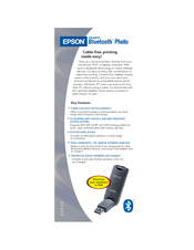 Epson PictureMate - Compact Photo Printer Brochure
