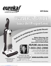 eureka boss smartvac 4870sz manuals rh manualslib com eureka the boss smart vac repair manual Eureka the Boss Vacuum Cleaner