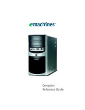 emachines t3656 manuals rh manualslib com eMachines Desktop Views eMachines Desktop Models