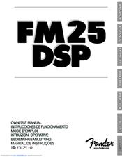 Fender FM25DSP User Manual