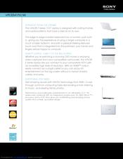 Sony Vaio VPCEE41FX/WI Vista