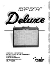 fender hot rod deluxe manuals rh manualslib com fender hot rod deluxe iii user manual fender hot rod deluxe amplifier review