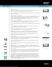 Sony Vaio VPCP112KX Notebook Driver PC