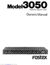 fostex 3050 manuals rh manualslib com