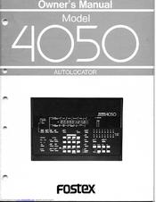 fostex 4050 manuals rh manualslib com