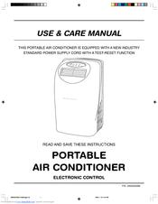frigidaire fap094p1z 9 000 btu portable air conditioner manuals rh manualslib com frigidaire air conditioner manual ffpa1022ti frigidaire air conditioner manuals online