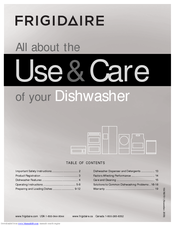 Frigidaire DGHD2433KF Use And Care Manual