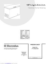 frigidaire ffc0923dw 8 8 cu ft manual defrost chest freezer manuals rh manualslib com frigidaire manual defrost freezers Freezer Burn Fizzy's Lunch Lab