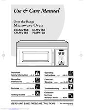 Frigidaire Plmv168 Use Care Manual