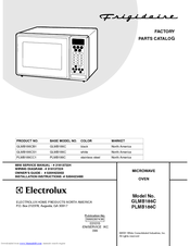 Frigidaire PLMB186C Factory Parts Catalog