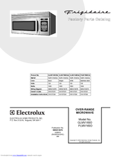 Frigidaire GLMV169D Factory Parts Catalog