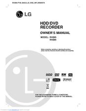 lg rh266 manuals rh manualslib com
