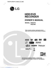lg rh278h manuals rh manualslib com