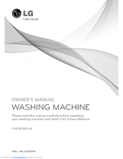 LG F1443KDS3 Owner's Manual