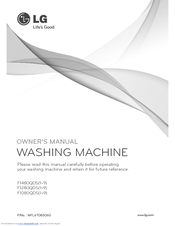 LG F1280TDS4 Owner's Manual