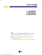 LG L204WS WINDOWS 7 DRIVERS DOWNLOAD