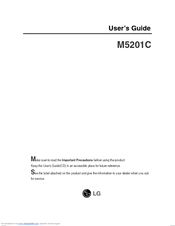 LG M5201C User Manual