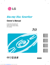 LG BH08LS20 -  Super Multi Owner's Manual